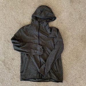 Lululemon Surge Warm Full Zip Heather Green XL